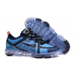 Zapatillas Nike Air VaporMax 2019 Para Hombres - Azul Negro