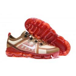Zapatillas Nike Air VaporMax 2019 Para Hombres - Rojo Oro
