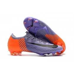 Nike Mercurial Vapor 12 Elite FG ACC - Violeta Naranja