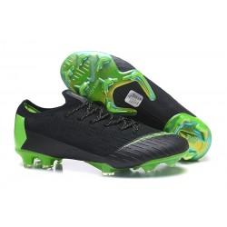 Botas de Fútbol Nike Mercurial Vapor XII FG Negro Verde