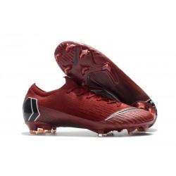 Botas de Fútbol Nike Mercurial Vapor XII FG Rojo Negro