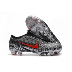 Neymar Nike Mercurial Vapor XII Elite FG - Negro Blanco Rojo