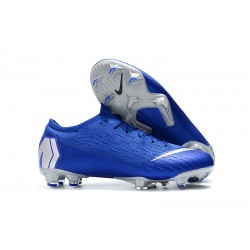 Nuevos Botas Nike Mercurial Vapor XII Elite FG - Azul Metal