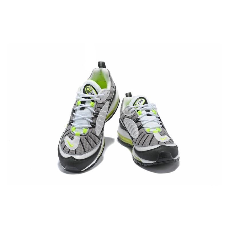 Zapatilla Nike Supreme x NikeLab Air Max 98 Gris Cian