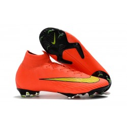 Nike Mercurial Superfly 6 Dynamic Fit FG - Naranja Amarillo