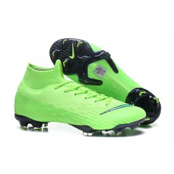 Nike Mercurial Superfly 6 Dynamic Fit FG - Verde Negro