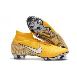 Neymar Nike Mercurial Superfly 6 Dynamic Fit FG - Amarillo