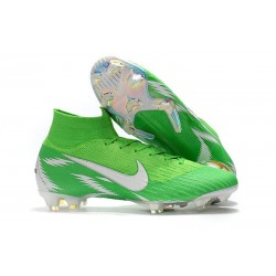 Nike Mercurial Superfly 6 Dynamic Fit FG - Verde Blanco