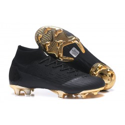 Nike Mercurial Superfly 6 Dynamic Fit FG - Negro Oro