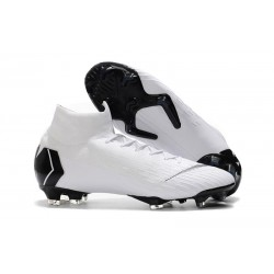 Nike Mercurial Superfly 6 Dynamic Fit FG - Blanco Negro