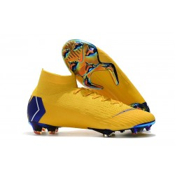 Zapatillas Nike Mercurial Superfly VI 360 FG - Amarillo Azul