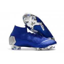 Zapatillas Nike Mercurial Superfly VI 360 FG - Azul Metal