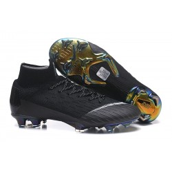 Zapatillas Nike Mercurial Superfly VI 360 FG - Negro Blanco