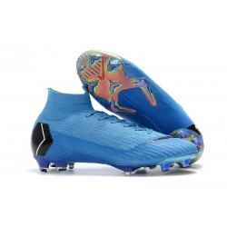 Nike Zapatos Mercurial Superfly 6 DF FG - Azul Negro