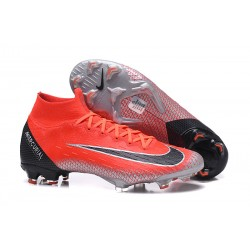 Nike Zapatos Mercurial Superfly 6 DF FG - Rosso Negro