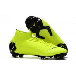 Nike Zapatos Mercurial Superfly 6 DF FG - Voltio Negro