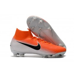 Nike Zapatos Mercurial Superfly 6 DF FG - Naranja Blanco