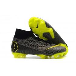 Nike Zapatos Mercurial Superfly 6 DF FG - Negro Voltio