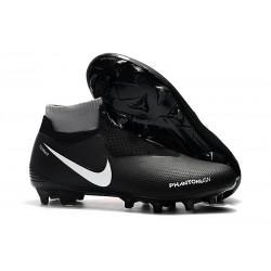 Bota de fútbol Nike Phantom Vision Elite DF FG - Negro Rojo
