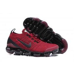 Zapatos Nike Air VaporMax Flyknit 2019 - Rojo Negro