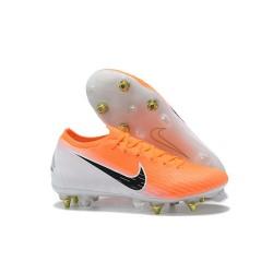 Nike Mercurial Vapor 12 Elite SG Botas Hombre Naranja Blanco