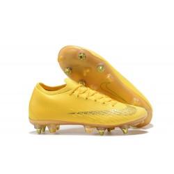 Nike Mercurial Vapor 12 Elite SG Botas Hombre Amarillo Oro