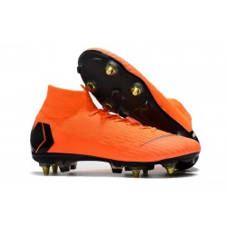 Nike Mercurial Superfly 360 Elite SG-PRO Anti-Clog Naranja Negro