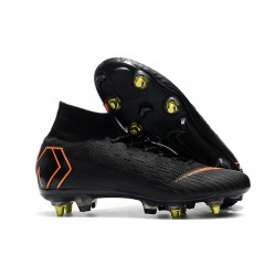 Nike Mercurial Superfly 360 Elite SG-PRO Anti-Clog Negro Naranja