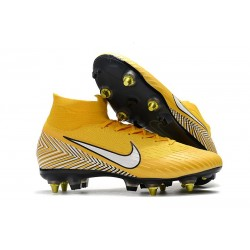 Nike Mercurial Superfly 6 Elite SG-Pro Anti-Clog Neymar Amarillo Blanco