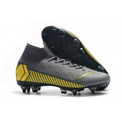 Nike Mercurial Superfly 6 Elite SG-Pro Anti-Clog Gris Oro
