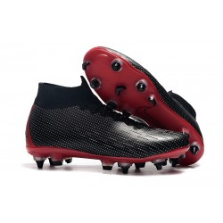 Nike x Jordan Mercurial Superfly 6 Elite SG-Pro Anti-Clog Rojo
