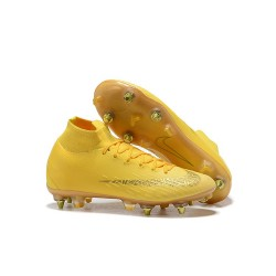 Nike Mercurial Superfly 6 Elite SG-Pro Anti-Clog Amarillo Oro