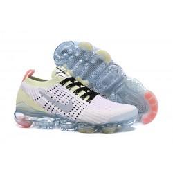 Zapatos Nike Air VaporMax Flyknit 2019 - Blanco Verde