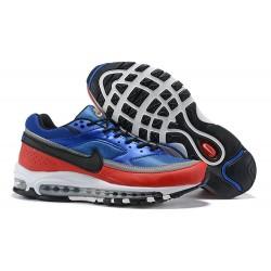 Zapatillas Nike Air Max 97 BW Hombres - Azul Rojo Negro