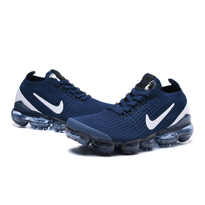 Zapatos Nike Air VaporMax Flyknit 2019 Azul Blanco