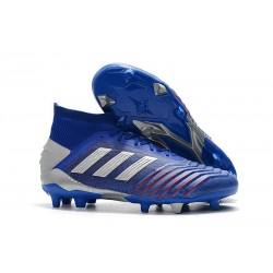 Zapatillas de Futbol adidas Predator 19.1 FG - Azul Plata