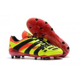 Zapatillas de Fútbol adidas Predator Accelerator FG - Amarillo Rojo Negro