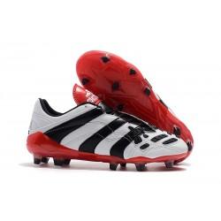 Zapatillas de Fútbol adidas Predator Accelerator FG - Blanco Rojo Negro