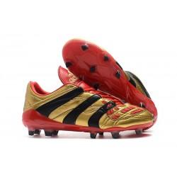 Zapatillas de Fútbol adidas Predator Accelerator FG - Oro Rojo Negro