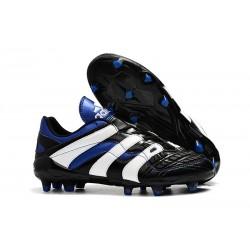 Zapatillas de Fútbol adidas Predator Accelerator FG - Negro Blanco Azul