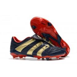 Zapatillas de Fútbol adidas Predator Accelerator FG - Armada Oro Rojo