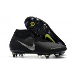 Nike Phantom Vision Elite DF SG-PRO AC Hombres - Negro Plata