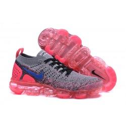 Zapatillas Nike Air Vapor Max 2018 Para Mujer - Gris Rosso