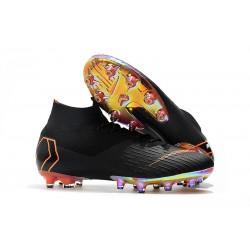 Bota Nike Mercurial Superfly 6 Elite AG Pro Negro Naranja