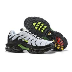 Nike Zapatos Air VaporMax Plus Hombres - Blanco Negro Verde