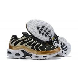 Nike Zapatos Air VaporMax Plus Hombres - Negro Oro