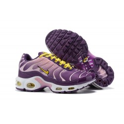 Zapatillas - Mujer Nike Air Max Plus Violeta Amarillo