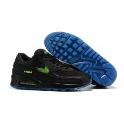 Nike Zapatos Air Max 90 Hombre Negro Verde