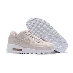 Nike Zapatos Air Max 90 Mujer Beige