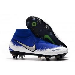 Nike Phantom Vision Elite DF SG-PRO AC Hombres - Azul Blanco